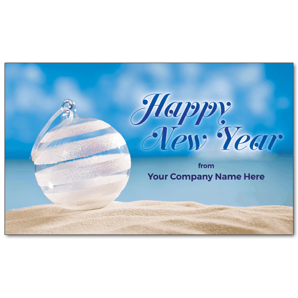 c193 custom beach bauble new year