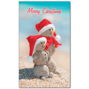 C421 - Sandy Snowmen