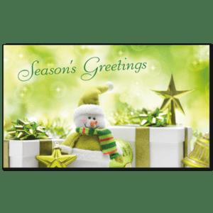 C423 - Jolly Green Snowman