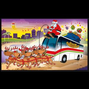 C446 - Santa's Bus