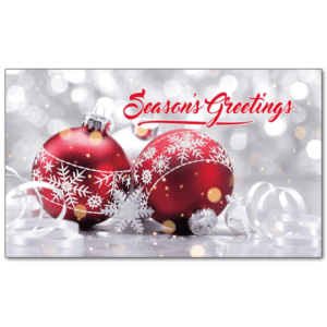 C455 - Dazzling Red Christmas
