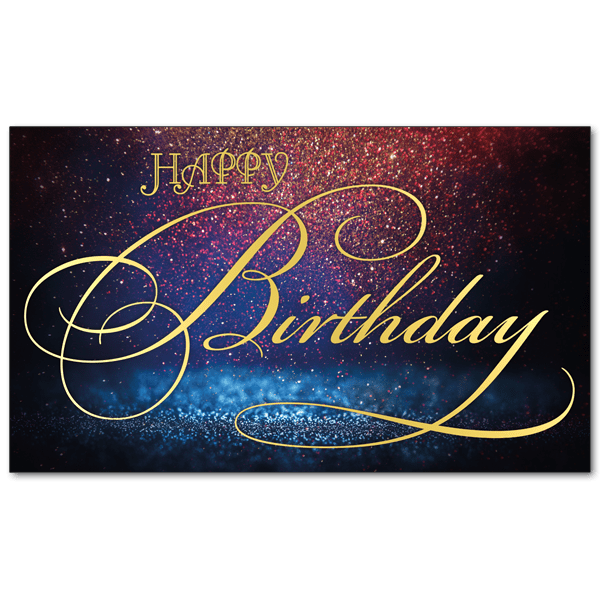 C772 - Calligraphic Birthday