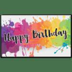 C774 - Birthday Splatter