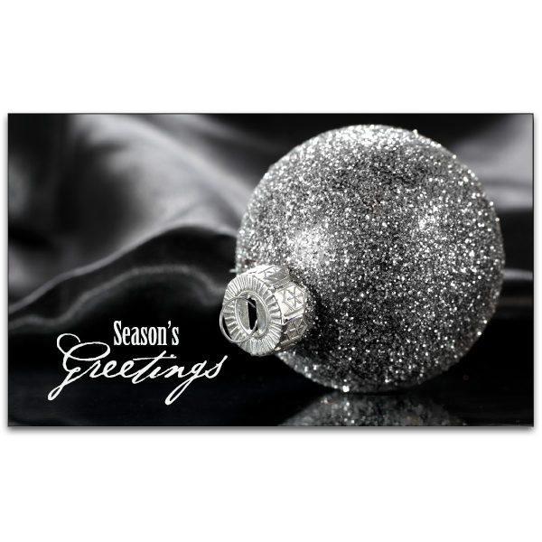 C481 - Silver Bauble