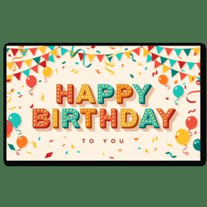 Decorative Birthday