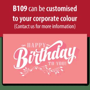 Retro Birthday (Pink)
