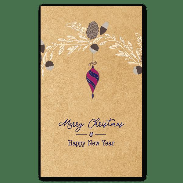 Pine Cone & Ornament