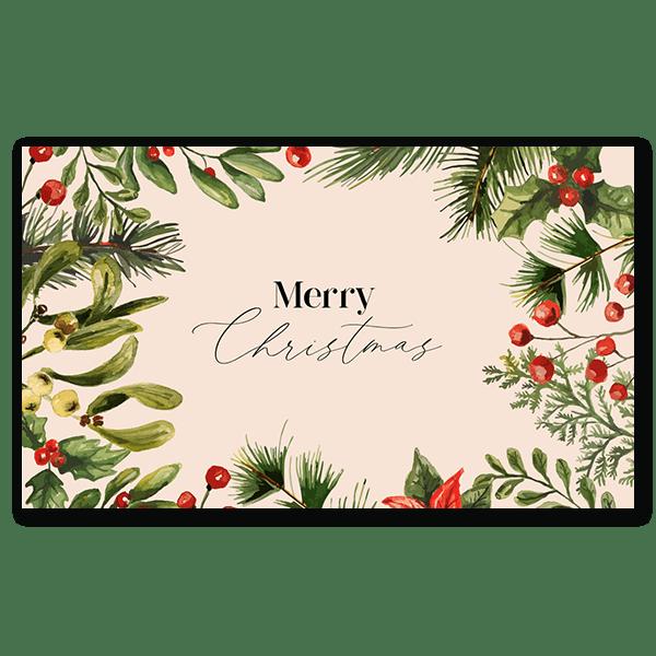 Holly, Pine & Mistletoe