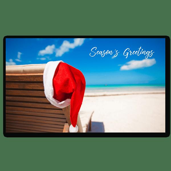 Santa on Vacation