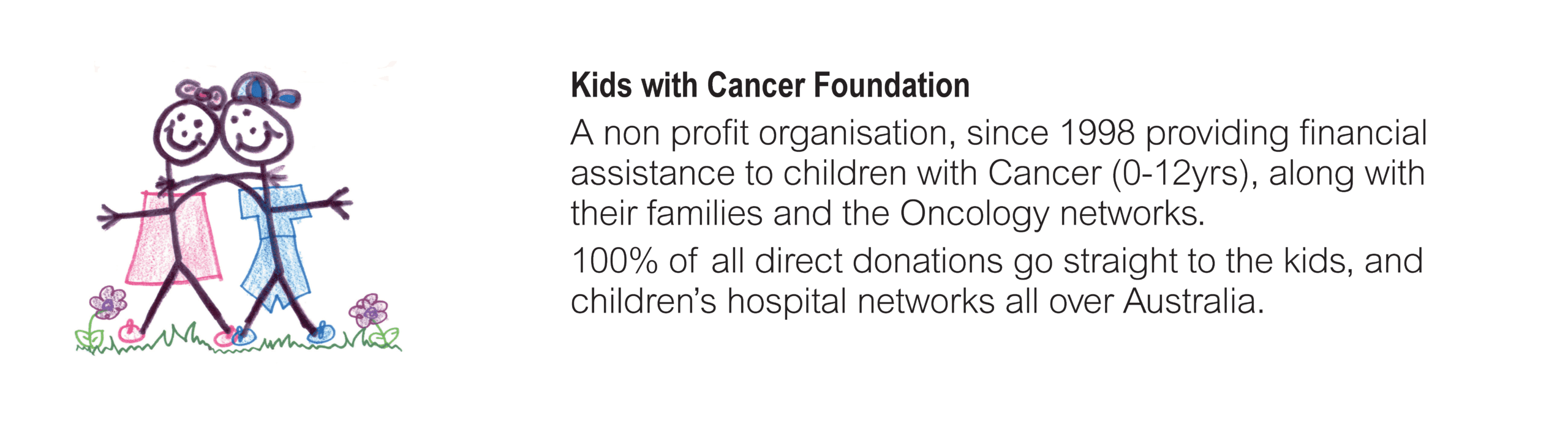 Charity_Kids with Cancer Foundation_colour